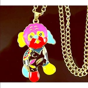 NWT 🐶 Betsey Johnson Colorful Enamel Dog Necklace